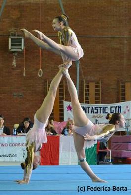 FUNtastic Gym 06, Campionato Acrosport Serie A e B, Prima Gara 2015, Miriam Agazzone, Francesca Corradino, Elisa Bagarotti