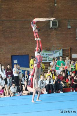 FUNtastic Gym 06, Campionato Acrosport Serie A e B, Prima Gara 2015, Jessica Poletti, Giulia Cerutti, Elisa Crevacore