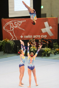 FUNtastic Gym 06, Swiss Acro Cup 2014, Jessica Poletti, Giulia Cerutti, Elisa Crevacore