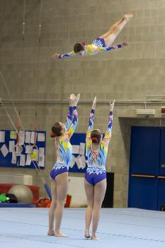 Funtastic Gym 06, Borgomanero, Acrosport, Seconda Gara FGI 2014, Jessica Poletti, Giulia Cerutti, Elisa Crevacore
