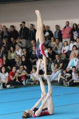 Funtastic Gym 06, Borgomanero, Acrosport, Prima gara campionato 2014, Giorgia Pessina, Sharon Agazzone