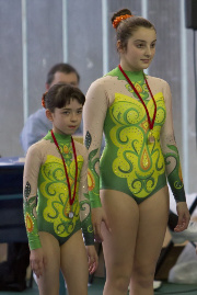 Funtastic Gym 06, Borgomanero, Acrosport, Prima gara campionato 2014, Micol Parisotto, Claudia Berra