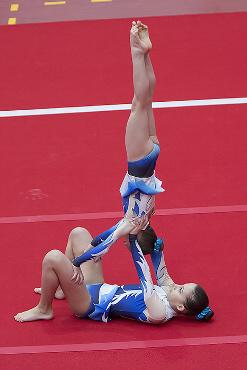 FUNtastic Gym 06, Borgomanero, Serie C, Campionato FGI Acrosport 2014, Vignate, Noemi Platini, Antonia Grosu