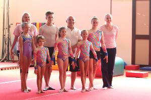 FUNtastic Gym 06, Stage acrobatico con Matei Todorov, Settembre 2014