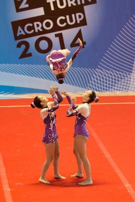 FUNtastic Gym 06, Turin Acro Cup 2014, Cristina Margaroli, Nicole Agazzone, Nicole Paracchini
