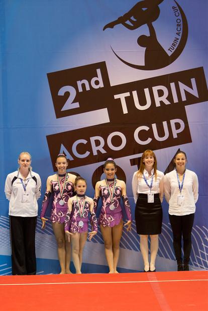FUNtastic Gym 06, Turin Acro Cup 2014, Cristina Margaroli, Nicole Agazzone, Nicole Paracchini, Mara Rapetti, Marta Cavagna, Eleonora Guzzo