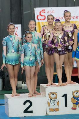 FUNtastic Gym 06, Campionato Acrosport Serie A e B, Prima Gara 2015, Miriam Agazzone, Francesca Corradino, Elisa Bagarotti, Cristina Margaroli, Nicole Agazzone, Nicole Paracchini