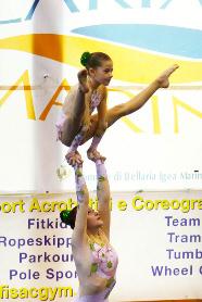 Fisac, 1st International Cup, Roberta Tambone, Martina Piotti