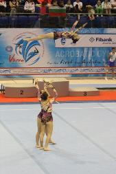 Varna International Acrobatic Cup, Miriam Agazzone, Francesca Corradino, Elisa Bagarotti