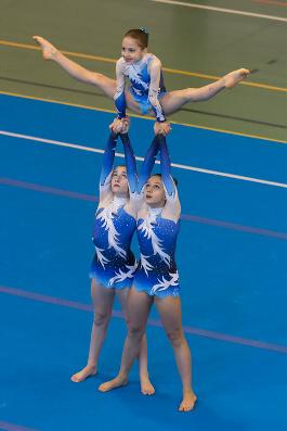 Funtastic gym 06, Acrosport Campionato FGI 2015 Serie C, Alessia Cerutti, Noemi Platini, Antonia Grosu