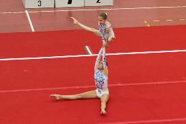 FUNtastic Gym 06, Acrosport Serie C seconda gara campionato FGI 2015, Rebecca Petterino, Marta Alfieri