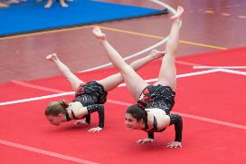 FUNtastic Gym 06, Acrosport Serie C seconda gara campionato FGI 2015, Eleonora Marcassa, Cristina Bonini