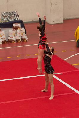FUNtastic Gym 06, Acrosport Serie C seconda gara campionato FGI 2015, Federica Tacca. Giulia Vicario