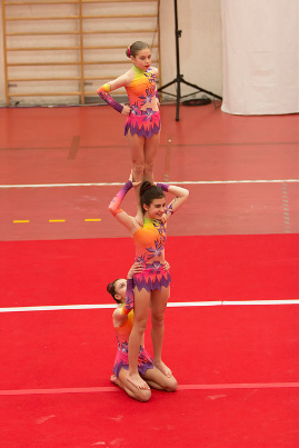 FUNtastic Gym 06, Acrosport Serie C seconda gara campionato FGI 2015, Sofia Poli, Gaia Gentini, Chiara Clementi