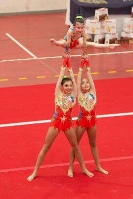 FUNtastic Gym 06, Acrosport Serie C seconda gara campionato FGI 2015, Giorgia Testa, Claudia Alampi, Melissa Borgogno