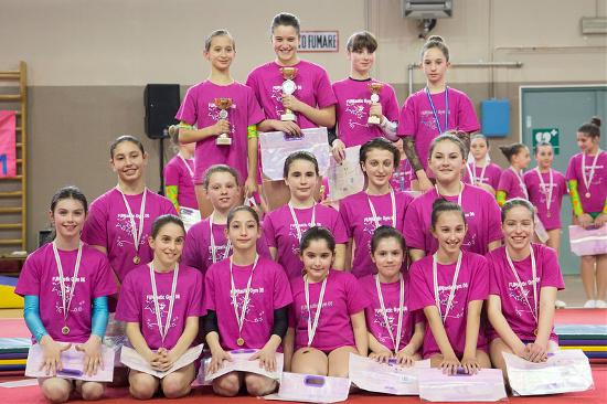 FUNtastic Gym, Gara Societaria 2015, Avanzato