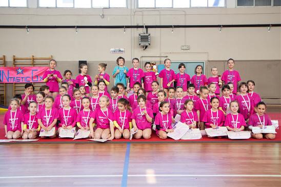 FUNtastic Gym, Gara Societaria 2015, Prime Ruote