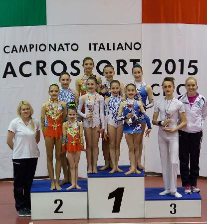 FUNtastic Gym 06, Acrosport Serie C seconda gara campionato FGI 2015