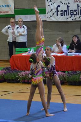 FUNtastic gym 06, Campionato Acrosport 2014 Loano serie C, Giorgia Testa, Claudia Alampi, Martina Piotti