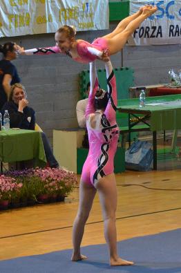 FUNtastic gym 06, Campionato Acrosport 2014 Loano serie C, Roberta Tambone, Marta Alfieri