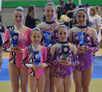 FUNtastic gym 06, Campionato Acrosport 2014 Loano serie C, Cristina Margaroli, Nicole Agazzone, Nicole Paracchini, Roberta Tambone, Marta Alfieri