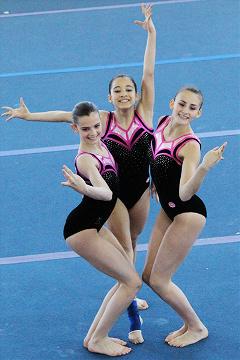 FUNtastic Gym 06, Jessica Poletti, Giulia Cerutti, Nicole Agazzone