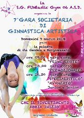Settima gara societaria di ginnastica artistica della FUNtastic Gym 06