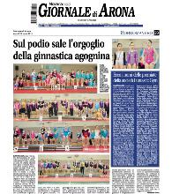 FUNtastic Gym 06, Borgomanero, Gara societaria, Giornale di Arona