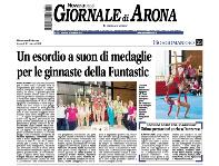 FUNtastic Gym 06, Borgomanero, Acrosport, Giornale di Arona, Prima gara Campionato FGI Serie B 2014 e Danzarese