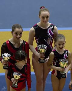 FUNtastic Gym, Micol Parisotto, Claudia Berra, Giorgia Pessina, Sharon Agazzone