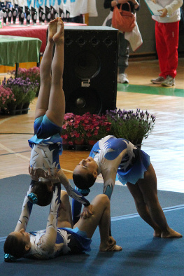 FUNtastic gym 06, Campionato Acrosport 2014 Loano serie C, Alessia Cerutti, Noemi Platini, Antonia Grosu