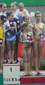 FUNtastic gym 06, Campionato Acrosport 2014 Loano serie C, Alessia Cerutti, Noemi Platini, Antonia Grosu, Giorgia Testa, Claudia Alampi, Martina Piotti