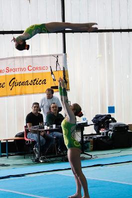 FUNtastic Gym 06, Campionato Acrosport Serie A e B, Prima Gara 2015, Micol Parisotto, Claudia Berra