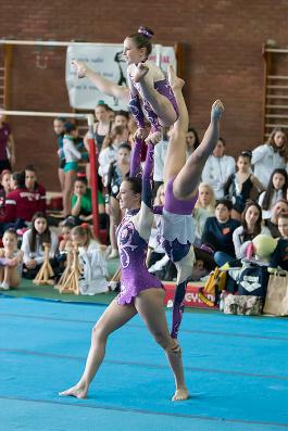 FUNtastic Gym 06, Campionato Acrosport Serie A e B, Prima Gara 2015, Cristina Margaroli, Nicole Agazzone, Nicole Paracchini
