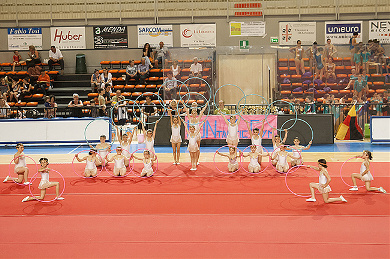FUNtastic Gym 06, Borgomanero, Saggio 2013, Cartoline dal mondo, Ritmica