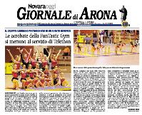 Giornale di Arona_6-12-2013_Telethon