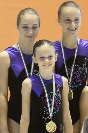 FUNtastic Gym 06, Turin Acro Cup, Francesca Corradino, Elisa Bagarotti e Miriam Agazzone