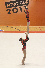 FUNtastic Gym 06, Turin Acro Cup, Micol Parisotti, Claudia Berra