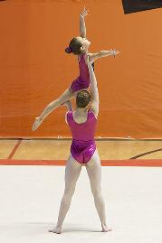 FUNtastic Gym 06, Turin Acro Cup, Giorgia Pessina, Sharon Agazzone
