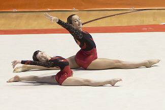 FUNtastic Gym 06, Turin Acro Cup, Micol Parisotto, Claudia Berra
