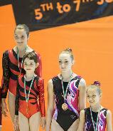 FUNtastic Gym 06, 1st Turinb Acro Cup, Micol Parisotto, Claudia Berra, Giorgia Pessina, Sharon Agazzone