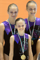FUNtastic Gym 06, 1st Turin Acro Cup, Miriam Agazzone, Elisa Bagarotti, Francesca Corradino