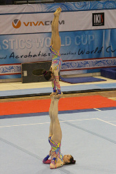 Varna International Acrobatic Cup, Sharon Agazzone, Giorgia Pessina
