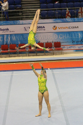 Varna International Acrobatic Cup, Micol Parisotto, Claudia Berra